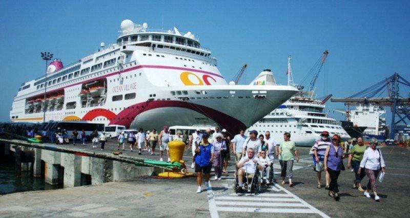Llegada de turistas en cruceros a Colombia creció el 26,6%