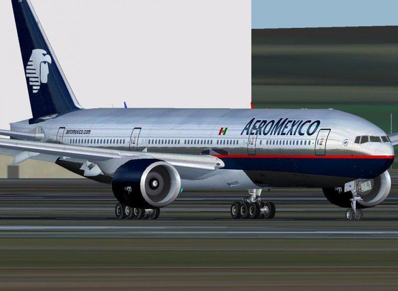 Aeroméxico transportó 18,8% más pasajeros en enero.