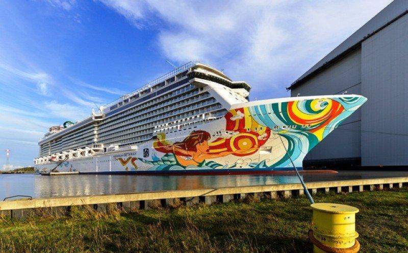 El Norwegian Getaway tiene capacidad para 4.000 pasajeros.