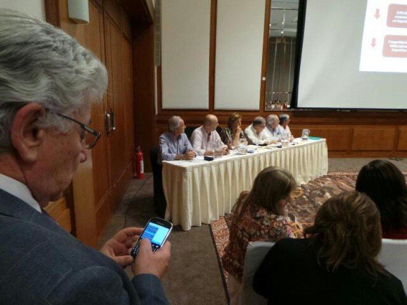 Reunión de la Cámara Uruguaya de Turismo en el hotel Mantra de La Barra.