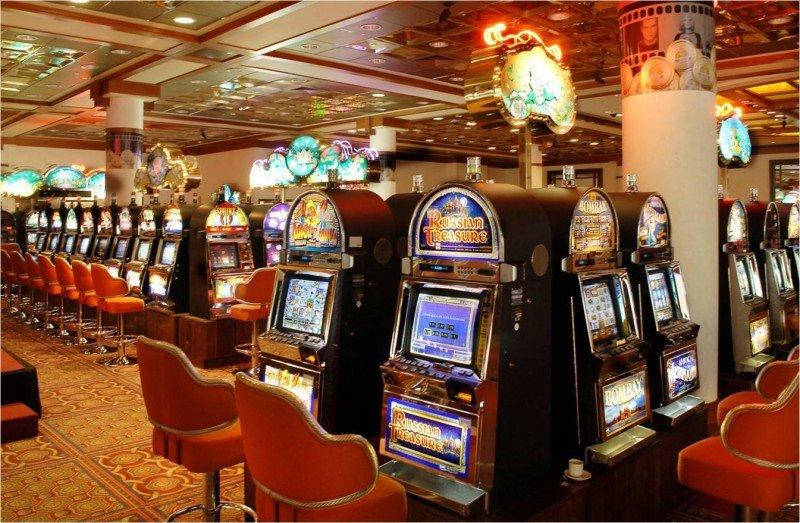 Slots del casino del Hotel Mantra.