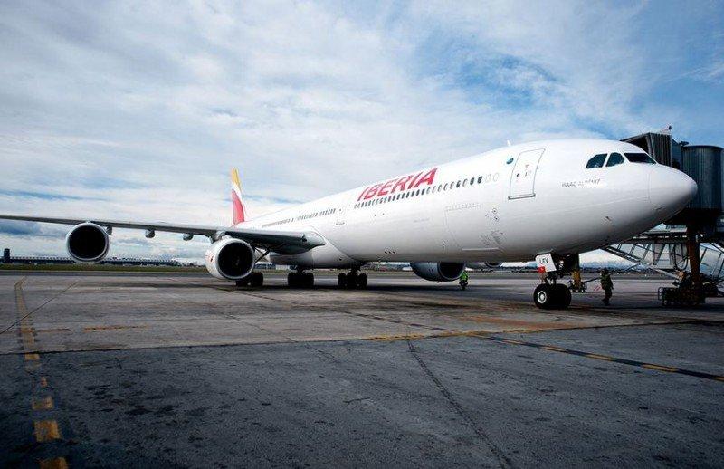 Los vuelos entre Buenos Aires y Madrid son operados en aviones A340-600, los más grandes de la flota de Iberia.