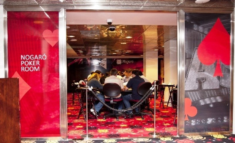 Poker Room del casino Nogaró.