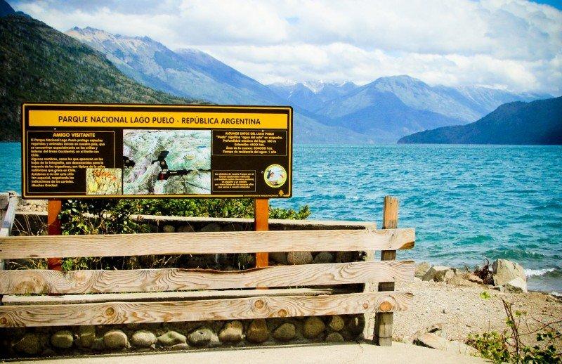 La traza vial del paso estará dentro del Parque Nacional Lago Puelo.