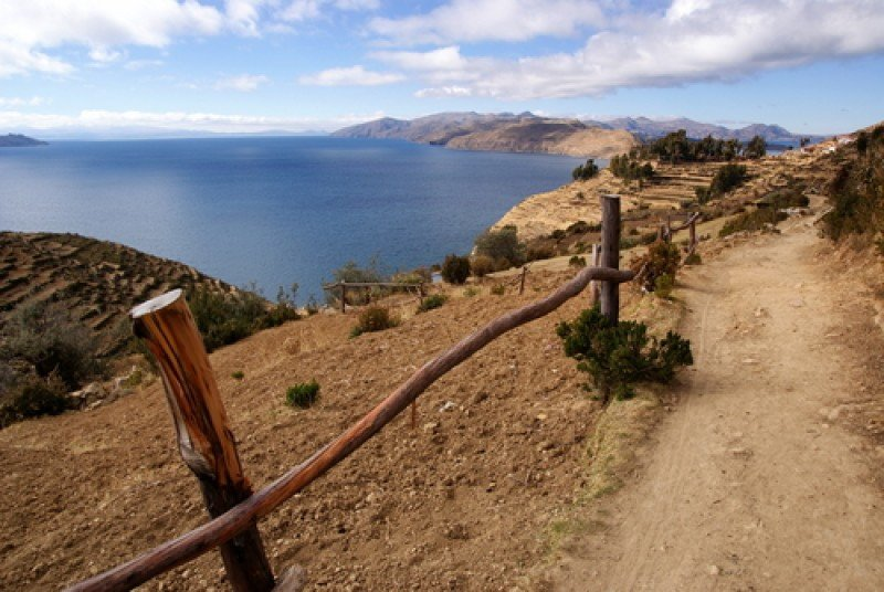 El lago Titicaca es uno de los lugares icónicos del país. #shu#