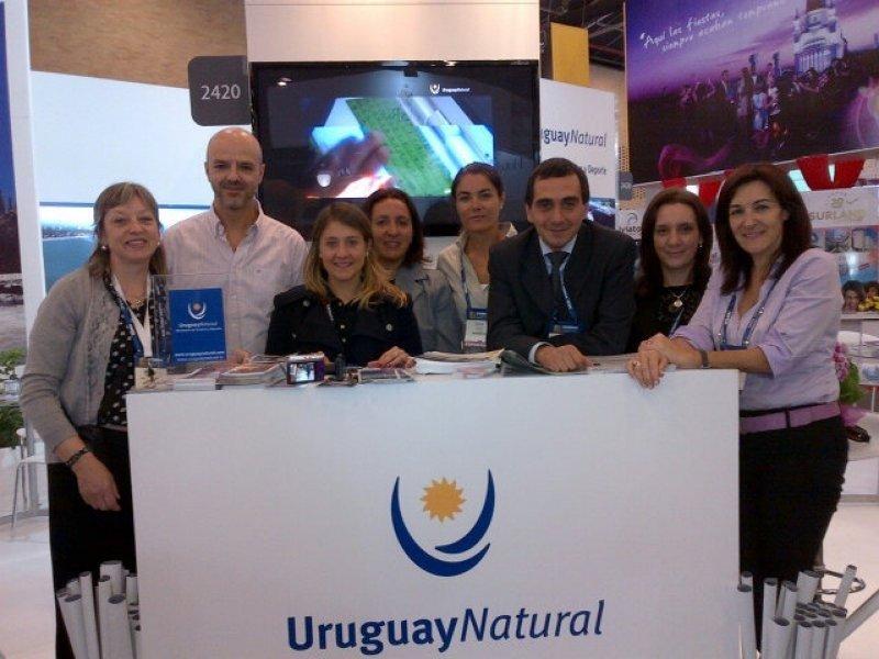 Delegación uruguaya en ANATO 2013.