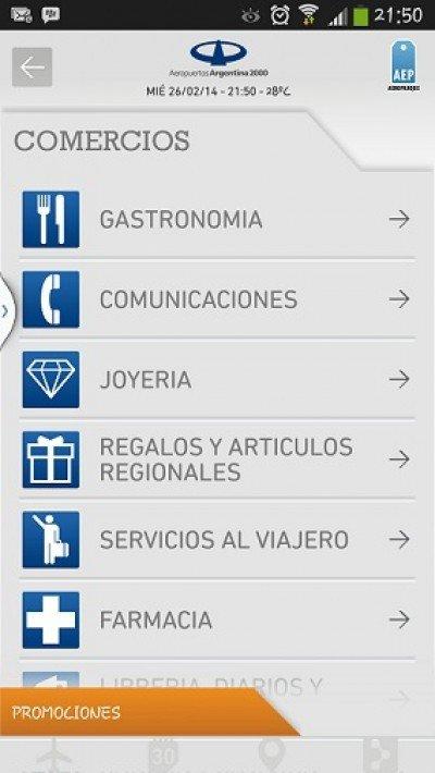 Aplicación gratis para todos los usuarios de Aeropuertos Argentina 2000.