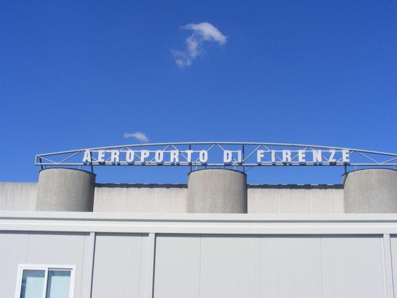 Aeroporto di Firenze.