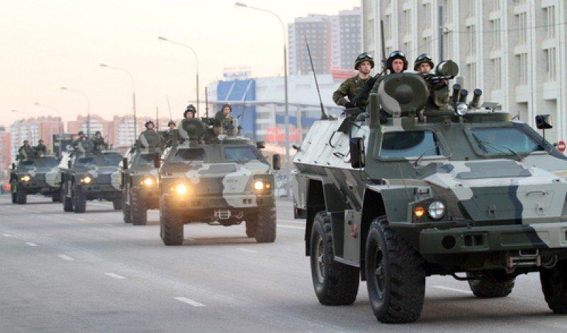 Tropas del ejército ruso, en una imagen de archivo. #shu#
