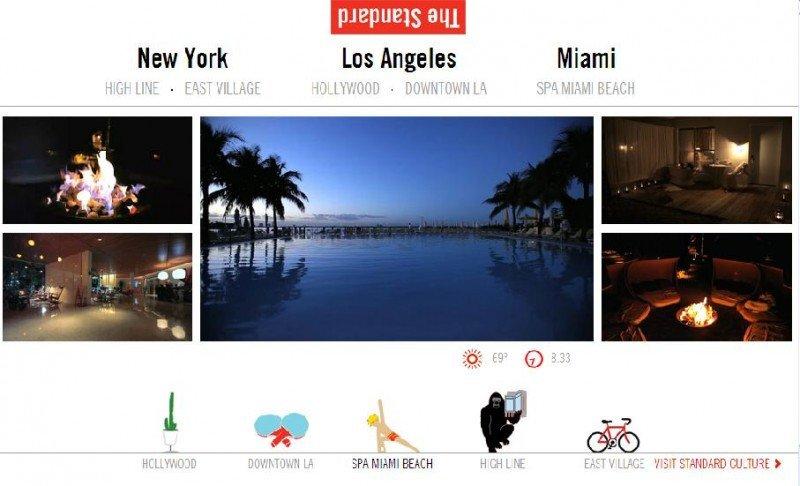 The Standard es otro de los hoteles que utiliza el crowdsourcing para crear su storytelling visual.