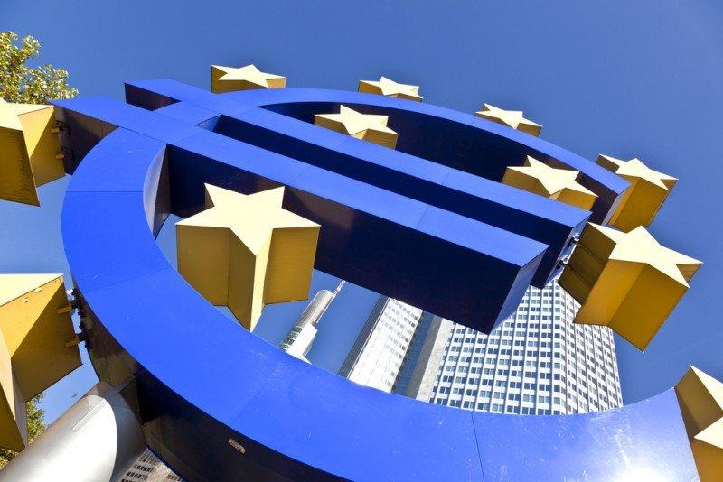 La economía de la eurozona creció menos de lo previsto. #shu#