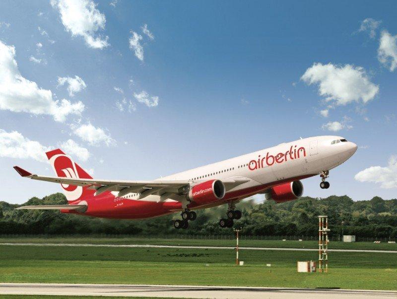 Airberlin: relanzamiento mundial con nuevas rutas, producto y servicio a bordo