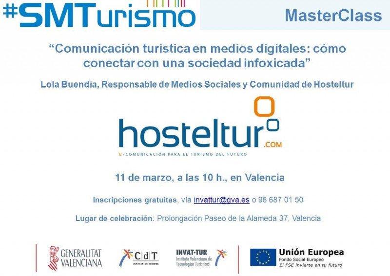 Hosteltur presentará una masterclass en el programa formativo SMTurismo