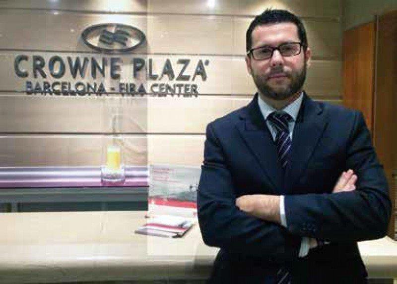 Miguel Ángel Doblado es el nuevo director de operaciones del Crowne Plaza Barcelona Fira Center.