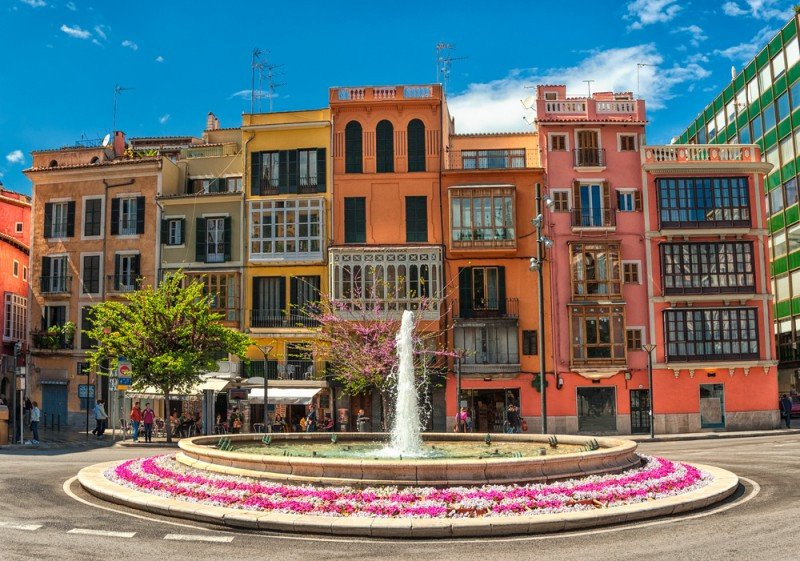 Centro de Palma de Mallorca. #shu#.