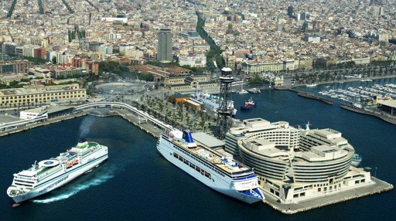Los cruceros rompen con la estacionalidad en Barcelona