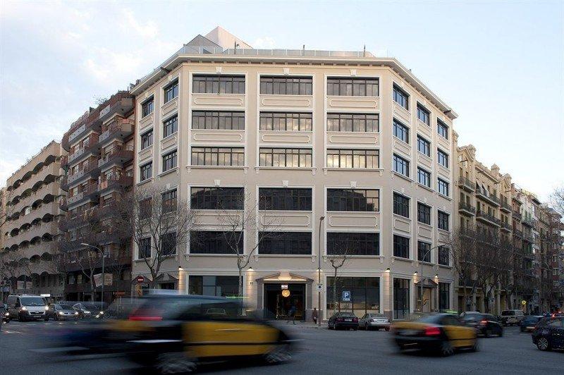 La antigua fábrica Werfen alberga 40 apartamentos en sus 5.000 metros cuadrados de superficie.