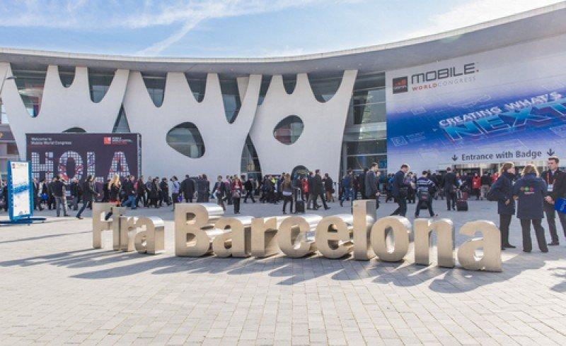 Imagen del congreso mundial de telefonía móvil, que se celebró recientemente en Barcelona.