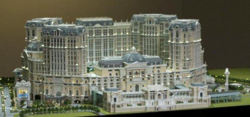 Maqueta del proyecto Lisboa Palace, en el que invertirán más de 2.800 millones de euros.