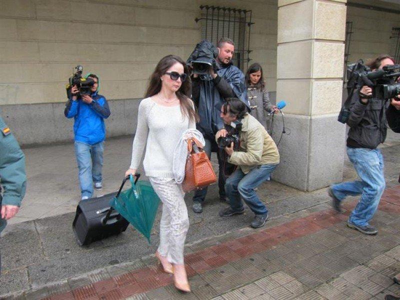La jueza Mercedes Ayala.