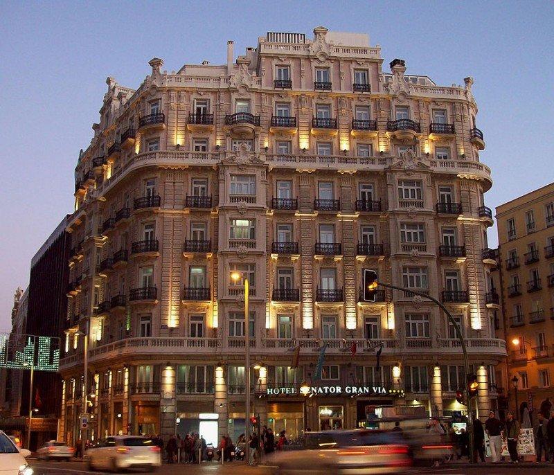Las ofertas por el inmueble del hotel Senator Gran Vía 21 podrían rondar los 25 millones de euros.