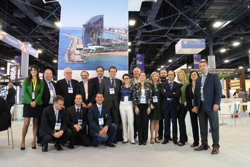 La delegación del Puerto de Barcelona en Miami.