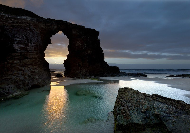 La playa de Las Catedrales ocupa la décimoquinta posición a nivel mundial. #shu#