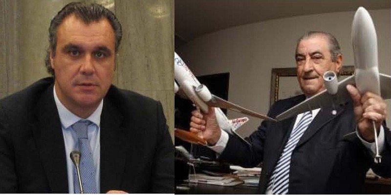 Rafael Gallego, presidente de CEAV (Izda.), y Juan José Hidalgo, presidente de Globalia.