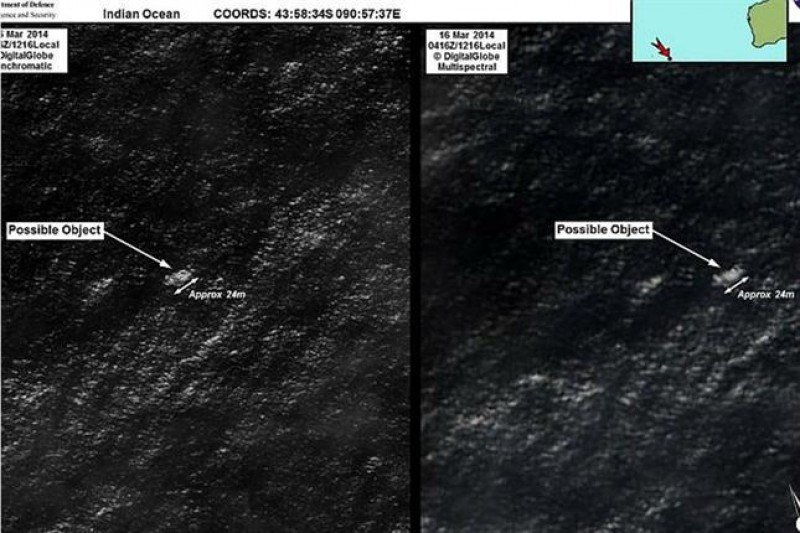 Avión desaparecido de Malaysia Airlines: hallan posibles restos