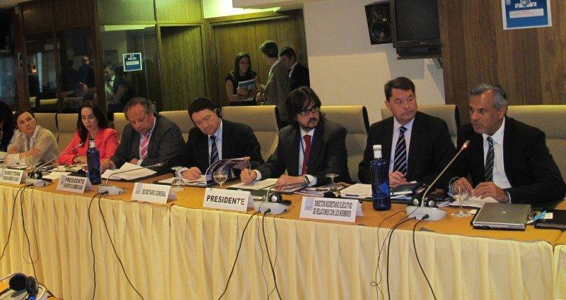 Un momento de la presentación del Informe global sobre la industria de reuniones.