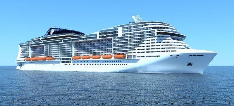 MSC tendrá los mayores barcos construidos por una naviera europea