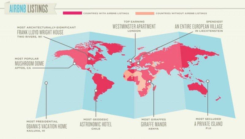 Airbnb, valorada en más de 7.000 M €