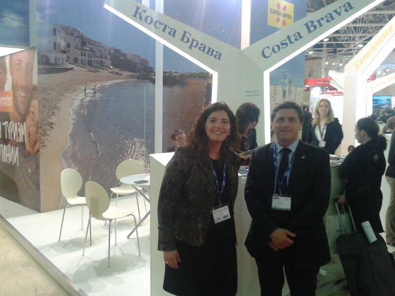 Lloret Turismo y el Lloret Convention Bureau promocionan la oferta de vacaciones, de reuniones y deportes en Rusia
