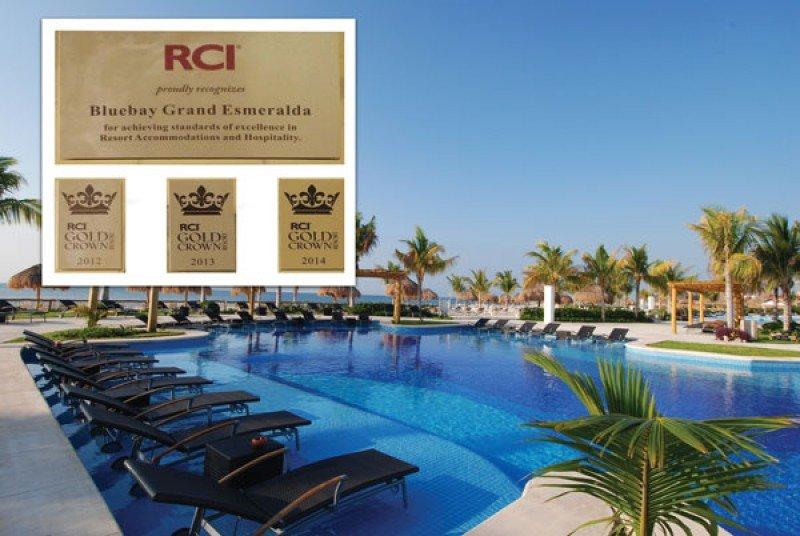 BlueBay Grand Esmeralda reconocido por RCI