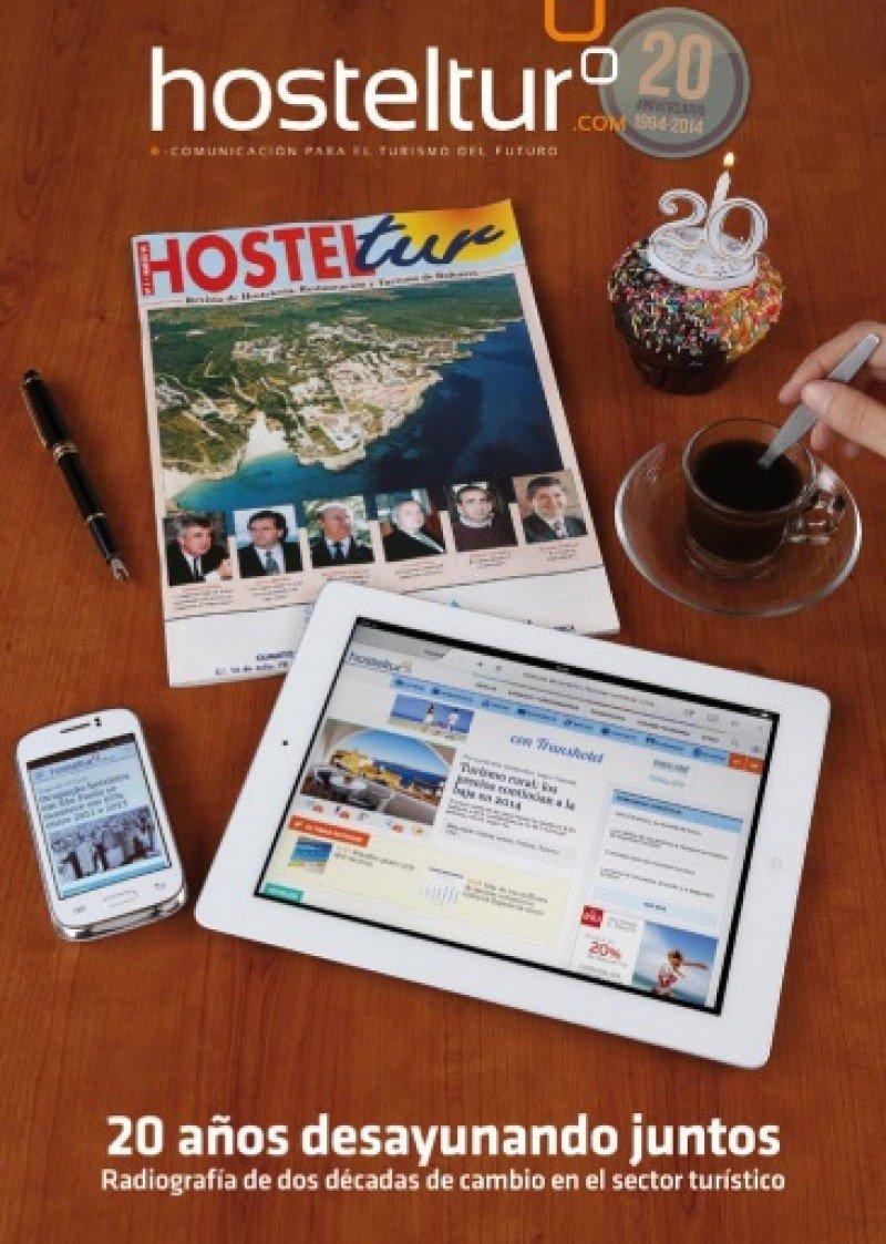 La revista de mayo está dedicada a los últimos 20 años del sector turístico español.