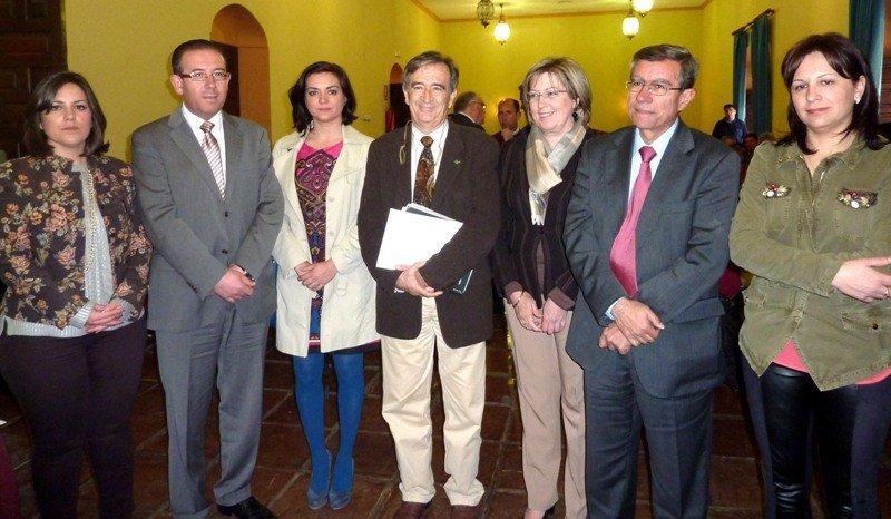 Participantes en el acto de clausura de los planes turísticos de Sierra Morena, que se han llevado a cabo durante los últimos siete años.