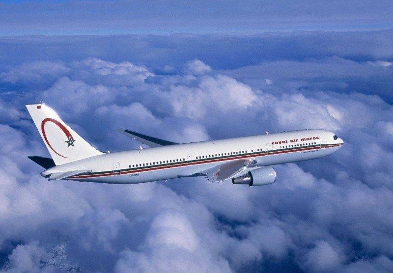 Royal Air Maroc une Casablanca y Sao Paulo con conexión desde Madrid.