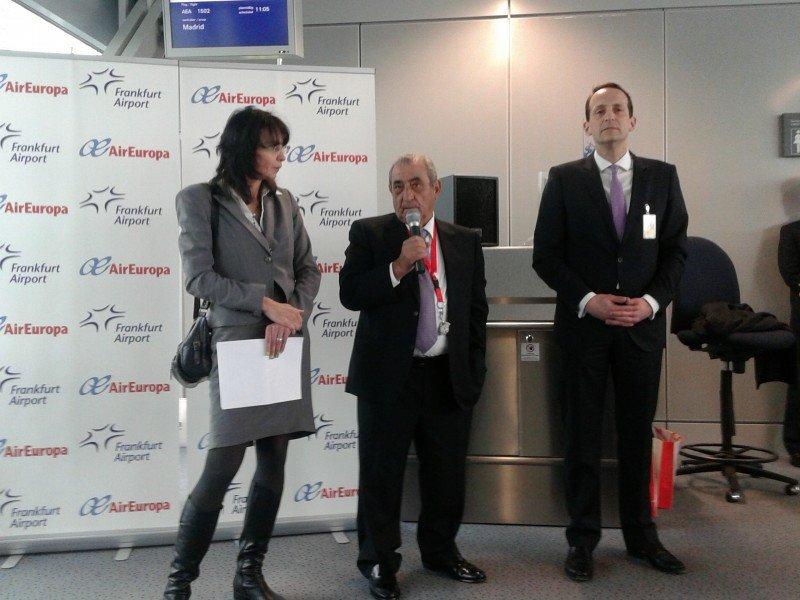 Air Europa incorpora la ruta Madrid-Frankfurt