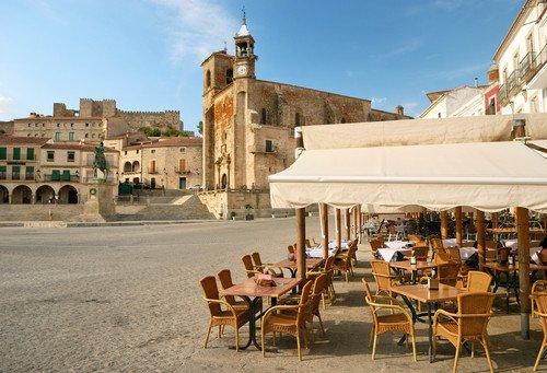El turismo representa el 5% del PIB de Extremadura. #shu#