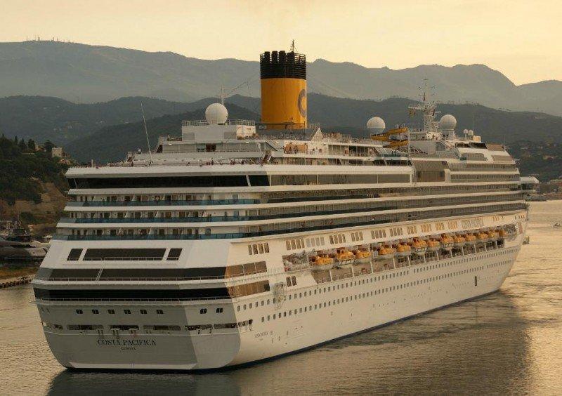 El Costa Pacífica ofrecerá embarque y desembarque en Montevideo la próxima temporada.