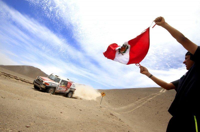 Perú rechaza albergar el Dakar en 2015.