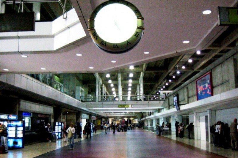 Aeropuerto Simón Bolivar, Caracas.