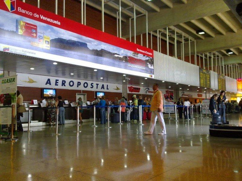 Aeropuerto Simón Bolívar de Caracas.