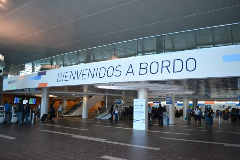 Aeropuerto internacional Luis Muñoz Marín.