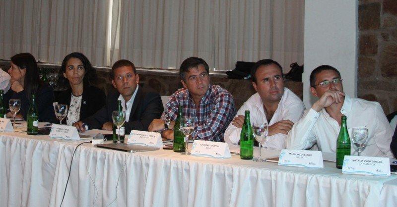 Autoridades de Tucumán en el último Consejo Federal de Turismo.