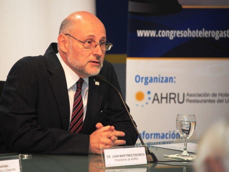 Juan Martínez, presidente de AHRU.