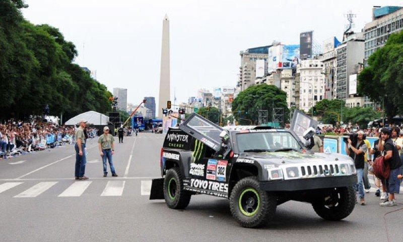 El centro de Buenos Aires volverá a ver largar la caravana del emblemático rally.