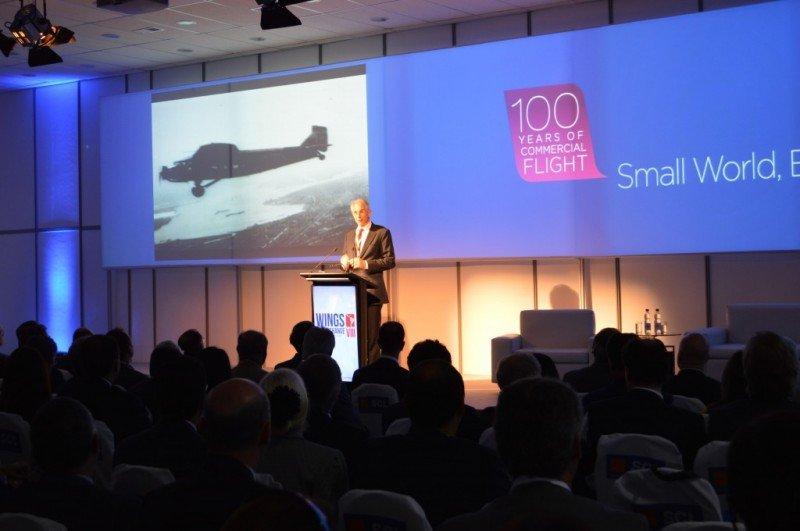 El CEO de IATA en Wings of Change VIII. Foto: AeroLatin News
