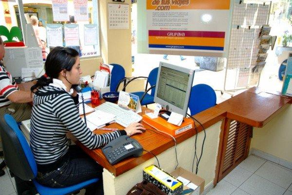 Imagen El empleo en las agencias crece un 6,6% y supera los 66.000