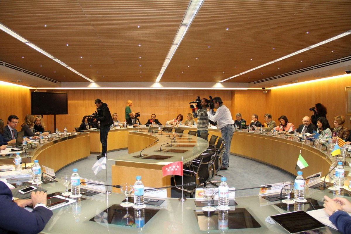 Reunión de los responsables autonómicos y nacionales del turismo.